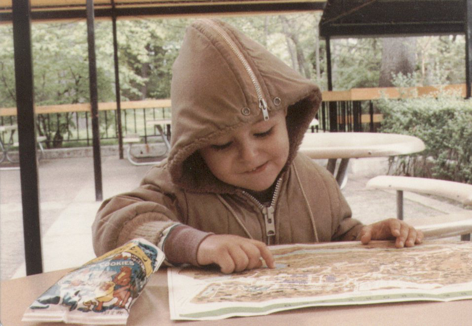Me as a young whippersnapper at the Bronx Zoo.